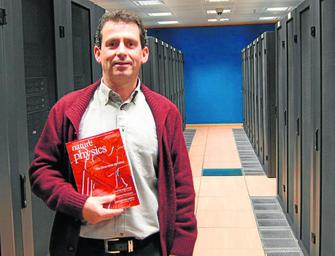 Usuario de supercomputación portada de Nature Physics